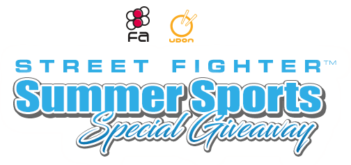 Street Fighter Summer Sports Giveaway