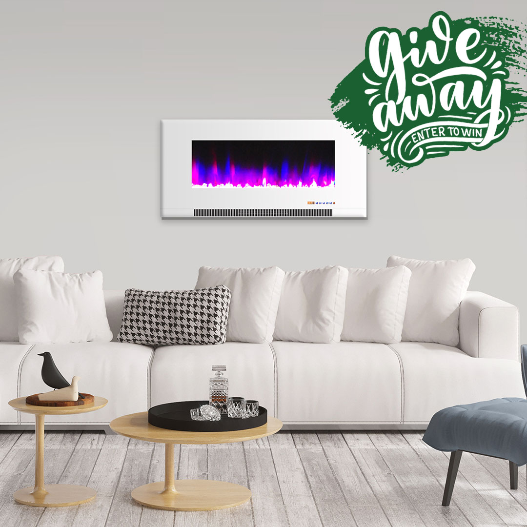 Hanover Products Electric Fireplace Giveaway