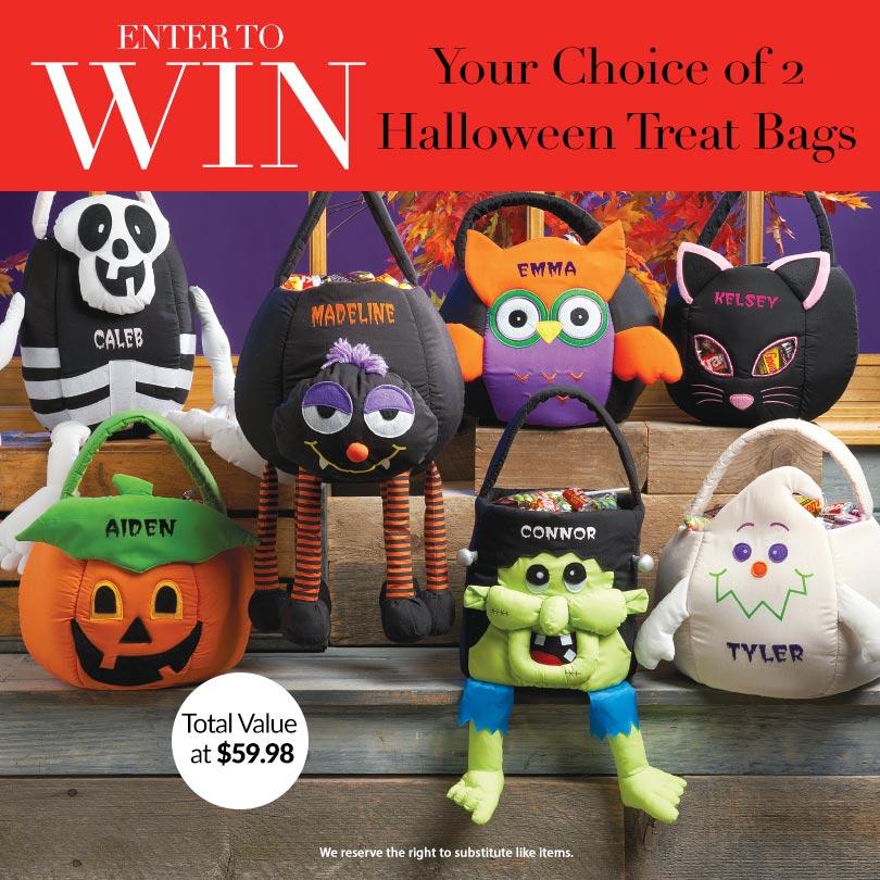 Lillian Vernon Halloween Treat Bag Giveaway