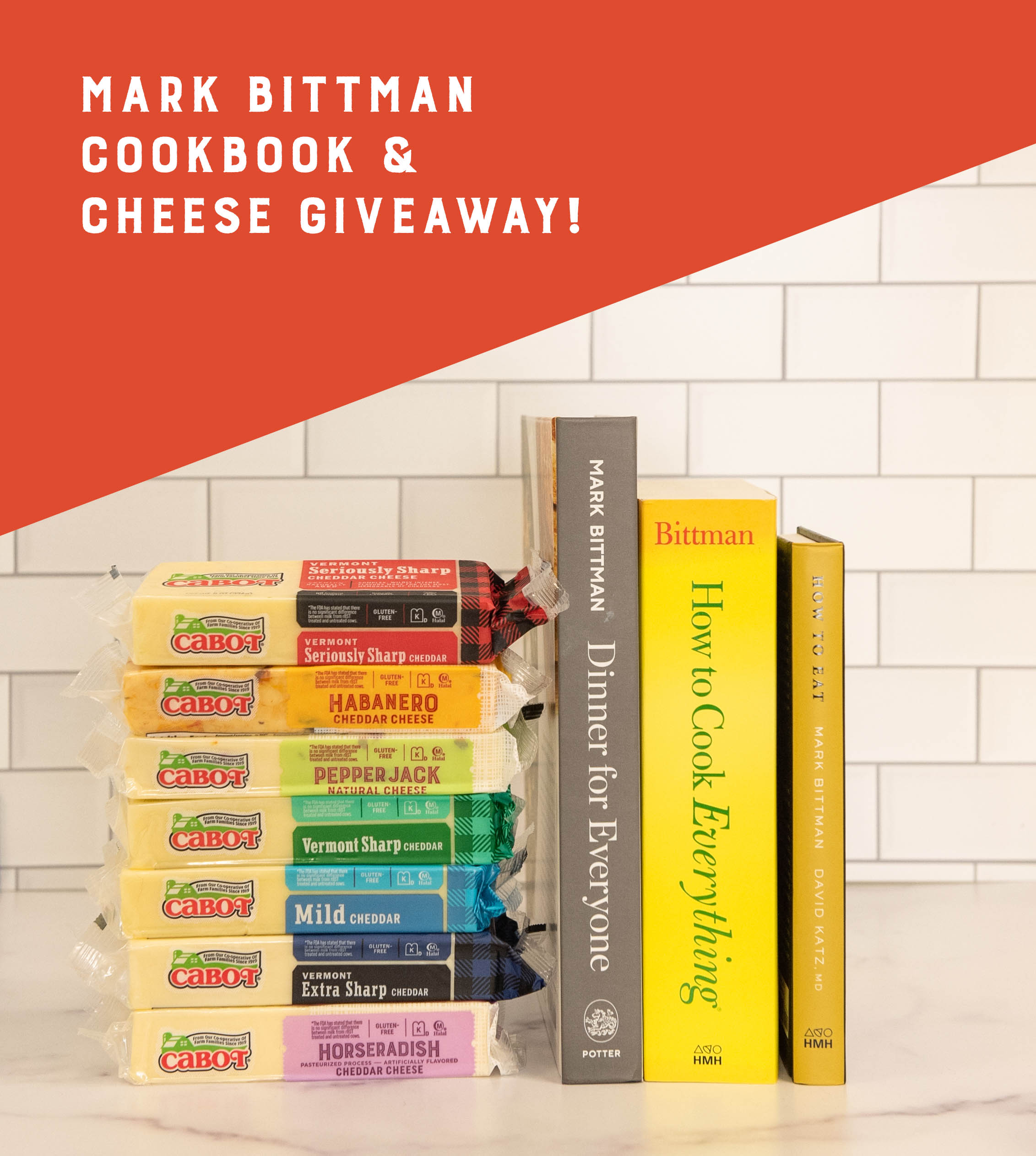 Mark Bittman Cookbook Giveaway