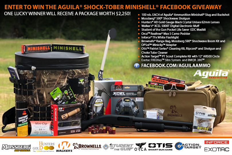 Aguila Sock-Tober Minishell Facebook Giveaway