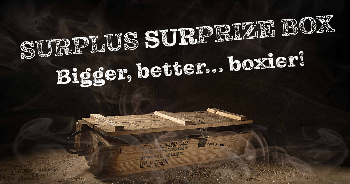 online contests, sweepstakes and giveaways - Princess Auto's Annual Surplus SURprize Box is Back!