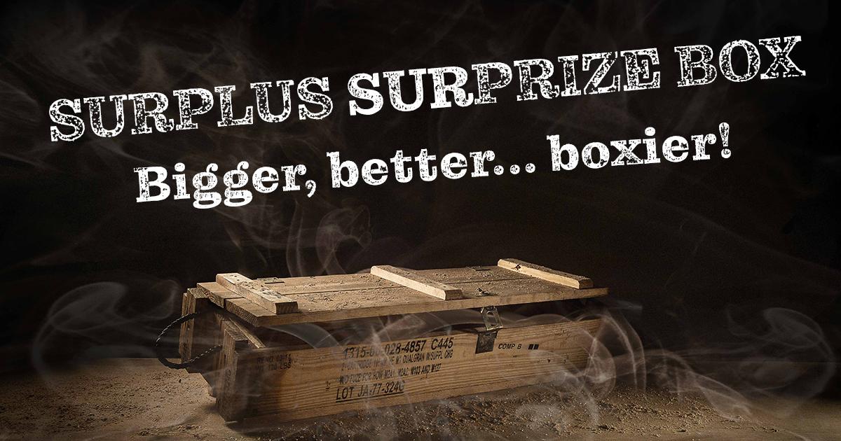 Princess Auto's Annual Surplus SURprize Box is Back!