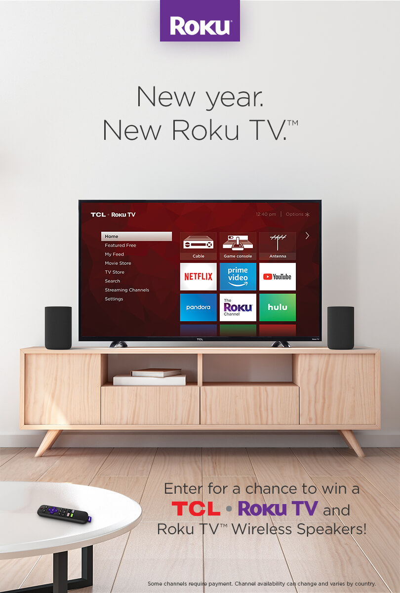 Roku Box: Enter For Your Chance To Win A TCL Roku TV And Roku TV