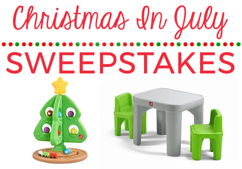 Step2 Christmas In July Sweepstakes - FamilySavings