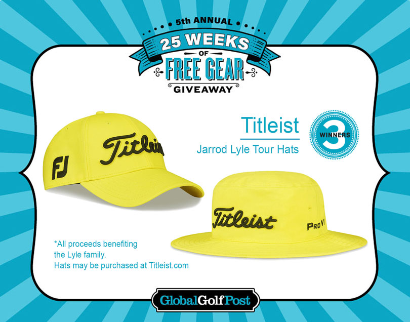 Enter to WIN a Jarrod Lyle Titleist Hat 13bff2add06