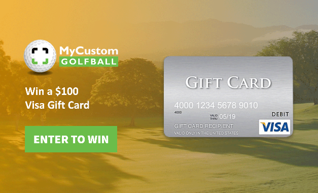 My Custom GolfBall Visa Card Sweepstakes