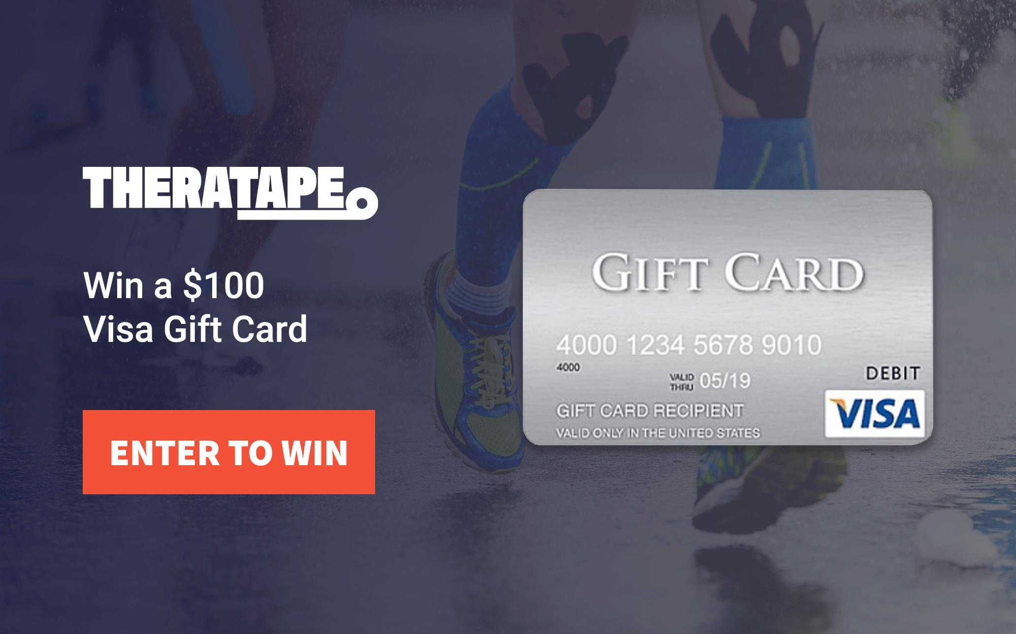 Theratape 0 Visa Gift Card Giveaway